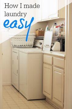 How I Made Laundry Easy | Life as Mom - Laundry is one of my favorite jobs, particularly now that I've made it easy on myself. These tricks can help you transform your laundry situation as well.