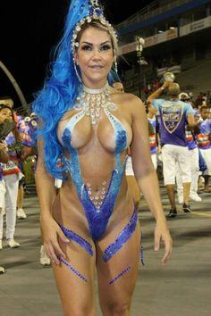 Carnaval Rio Nude Cameltoe Hot 108