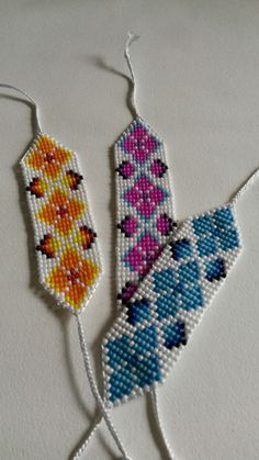 Bracelet gift / Handmade Bracelet / Loom Bead / by LoveOftheBead