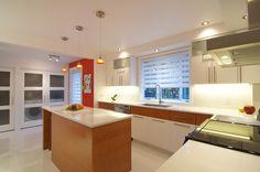 Rénovation de cuisine, utiliser le bois en accent - Réno M3