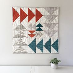 Flying Geese Wall Quilt