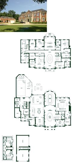 House Plans Mansion Large 67 Ideas For 2019 House Plans Mansion, Victorian House Plans, Sims House Plans, Luxury House Plans, Best House Plans, Dream House Plans, House Floor Plans, Victorian Homes, Small Mansions
