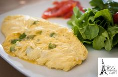 This omelette was made by a friend of ours at his farm up the hill from our hotel. All fresh ingredients, all fresh for us!