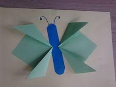 Vlinder van vouwblaadjes