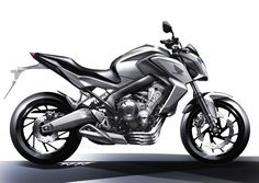 CB650F design sketch