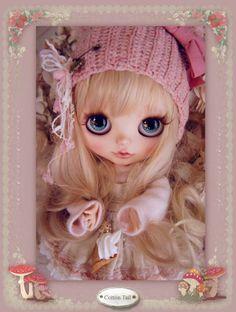 ◆CottonTail × ichigonokokoro15様◆ Babyきのこちゃん *メガネっこ* カスタムブライス _画像3