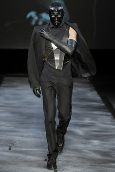 Thierry Mugler. Menswear. Fashion Week Paris 2011/12
