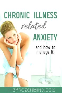 Chronic Illness Related Anxiety adds another level to being sick. Not only do you worry about your sickness you worry on your good days as well. Find out how to handle anxiety if you have a Chronic Illness. Chronic Fatigue Syndrome, Chronic Illness, Chronic Pain, Fibromyalgia, Mental Illness, Health Advice, Health And Wellness, Health Blogs, How To Handle Anxiety