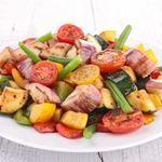 Lemon Pepper Vegetables - 1 Points + - LaaLoosh