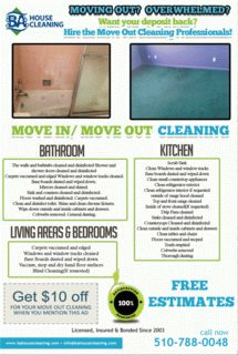 House Cleaning services in Berkeley: Berkeley home owners cleaning Services
