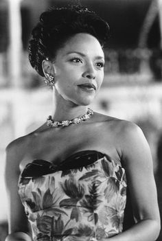 Lynn Whitfield, picture from Eve's Bayou (STUNNING!). I love this movie not just because of the story, but more so because of the FABULOUS DRESSES!