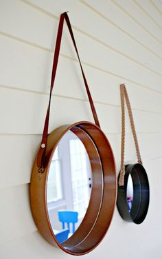 Awesome Spring #DIY Projects: Hanging Mirror