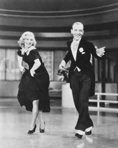 Fred Astaire Movie Memorabilia | FRED ASTAIRE & GINGER ROGERS 11X14 B&W PHOTO. Name: FRED ASTAIRE ...