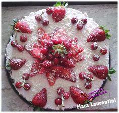 ♥ ◄(Clicca qui X: cheesecake ricotta panna e fragole
