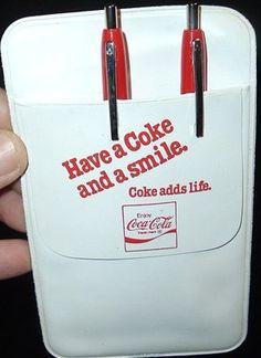 Advertising NOS New Rare Dr Pepper Soda Pencil Pocket Holder Clip Vintage