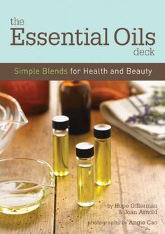 The Essential Oils Deck - a 50 card deck containing diy herbal remedies and beauty recipes for everything from soothing massage oils to prescriptive blends for aches, pains, stresses and sickness.