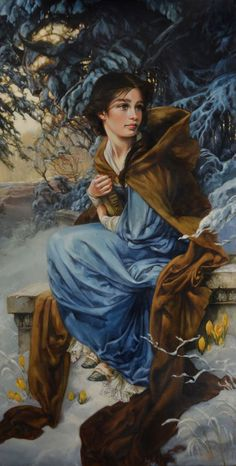 Pinturas a óleo das Princesas Disney de Heather Theurer                                                                                                                                                      Mais