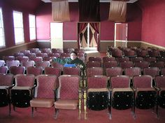 vintage theater chairs - Google Search