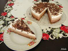 Aleda konyhája: Csokis torta( sütés nélkül) Pavlova, Tiramisu, Cheesecake, Pudding, Vaj, Ethnic Recipes, Food, Cheesecakes, Essen