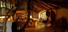 I would happily build and live in a hobbit house...seriously!