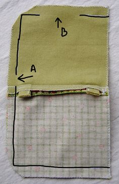 Pyramid Bag DIY Tutorial. Ideal as a small gift