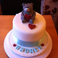 Tatty teddy barrel cake