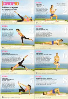 Easy exercises to get toned and stay toned.