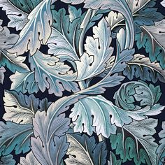 As part of our HOUSE OF HACKNEY X WILLIAM MORRIS collection, ACANTHUS presents a serene and deep tonal Aegean Blue scheme in this premium wallpaper de...
