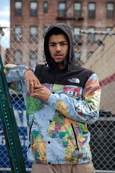 Коллаборация Supreme и The North Face - www.be-in.ru