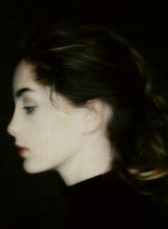 Lucie de la Falaise photographed by Paolo Roversi, 1990s.