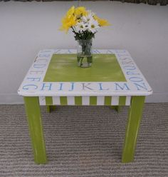 children's table - simple style to build making longer legs