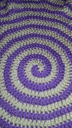 Meditation mat/ Meditation rug/ spiral meditation mat/ crochet meditation…