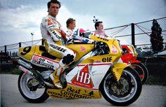 Pierfrancesco Chili #9 Honda NSR500 Team HB Gallina 1989
