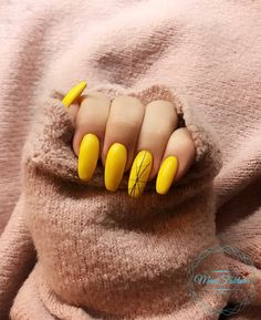 Yellow Nails, Manicure, Nail Art, Tattoos, Autumn, Board, Beauty, Yellow Toe Nails, Pure Nail Bar