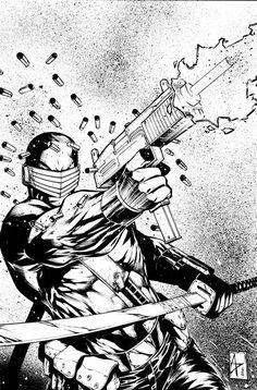 Snake Eyes - G.I. Joe - Agustin Padilla