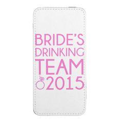 #wedding #drinkingteam #bride #bacheloretteparty #bridesmaid Bride's drinking team 2015