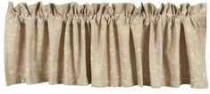 Our Taupe Candlewicking valance is made of cotton with embroidery. This is a 72 x fully lined valance with a 2 header and a rod pocket. from Home Colle Rod Pocket, Home Collections, Valance Curtains, Taupe, Country Cottages, Window Treatments, Home Decor, Beige, Decoration Home