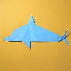 折り紙でイルカの折り方!子供も簡単な作り方を紹介 | セツの折り紙処