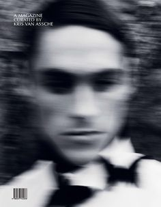 a-magazine curated by kris van assche. Magazine Art, Magazine Design, Magazine Cover Layout, Cover Boy, Conceptual Design, Artistic Photography, Fashion Photography, Shades Of Black, Editorial Design