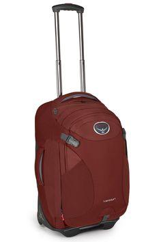 Amazon.com: Osprey Meridian Wheeled Luggage (22-Inch/60 Liter, Metal Grey): Sports & Outdoors