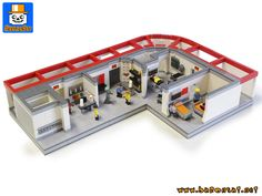 Hello, My new classic Star Trek model, the sickbay. This model is in fact more than the sickbay itself as it includes hallways where Engineering room and T...