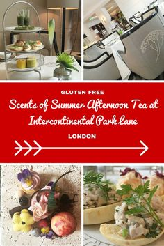 Gluten Free Scents Of Summer Afternoon Tea At Intercontinental Park Lane London