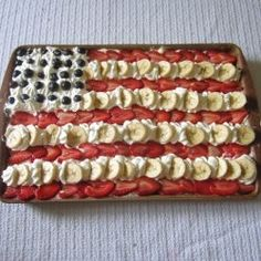 Want a quick, healthy, impressive patriotic dessert for the Fourth of July or Flag Day? Are you going to a cookout for Memorial Day or Labor Day?...