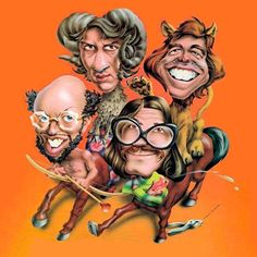 """Firesign Theater """"Don't Crush That Dwarf, Hand Me the Pliers"""" ...one of their many fine albums."""