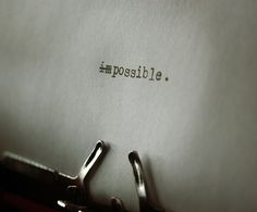 :: make it possible ::