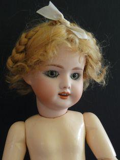 Bleuette Reproduction Porcelain Doll SFBJ 60 Mold Made in France by G Bravot   eBay