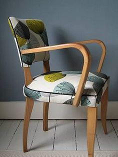 Bridge Chair side view