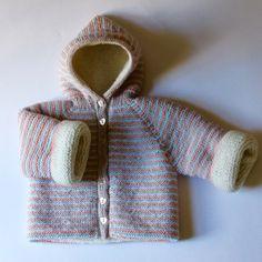 Coat Monceau © Cleonis ~ Reversible baby coat! Gorgeous...