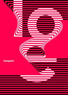 Poster by Xavier Esclusa Trias. A series of self advertising posters for Twopots Design Studio. We bank on simplicity, we love the Swiss line of design, we believe that less is more. Simple but visually powerful, that's what defines our company. Minimalist Poster Design, Minimal Poster, Graphic Design Posters, Graphic Design Typography, Graphic Design Illustration, Graphic Design Inspiration, Poster Designs, Design Graphique, Art Graphique