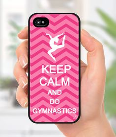 Keep Calm and Do Gymnastics iphone case Iphone 5 by CoverCandy